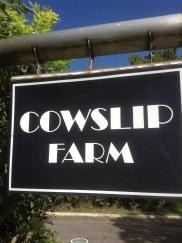 Cowslip Farm SIgn